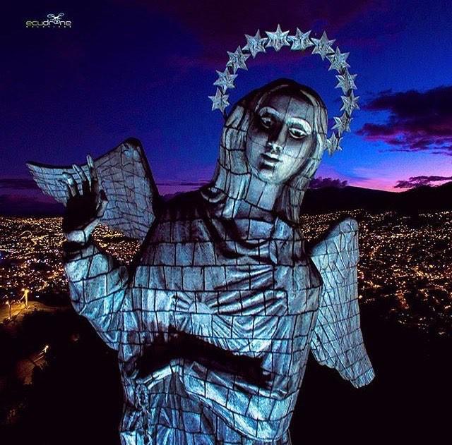 ★ VIRGEN DEL PANECILLO - QUITO  By : @ecudrone4k  #Quito #ProvinciaDePichincha #DiscoverEcuador #EcuadorPotenciaTuristica #EcuadorIsAllyouNeed #EcuadorTuristico #EcuadorAmaLavida #EcuadorPrimero #Ecuador #SoClose #LikeNoWhereElse #ViajaPrimeroEcuador #AllInOnePlace #AllYouNeedIsEcuador #PaisajesEcuador #PaisajesEcuador593 #FeelAgainInEcuador #Love #Nature_Wizards #Nature_Perfections #Wow_America #World_Shots #WorldCaptures