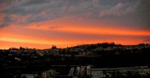 🔝 📷:@tatianagavilanes | #Ambato 😌 #Ecuador #atardecer #sunset #instameetec #ecuafoto