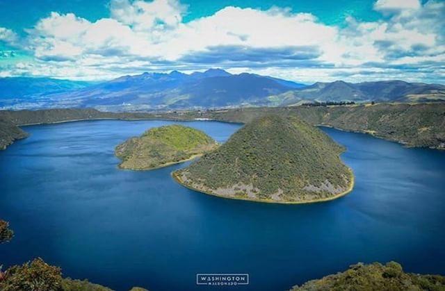 CUICOCHA - IMBABURA By : @washingzmc #Cuicocha #ProvinciaDeImbabu...