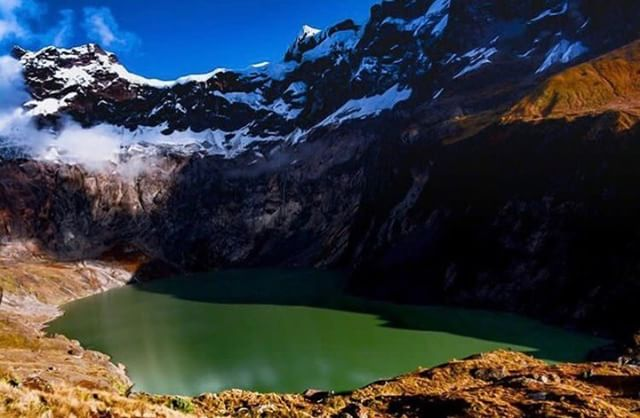 VOLCÁN EL ALTAR – CHIMBORAZO  By : @cristian_andres_villalba  #ElAl…