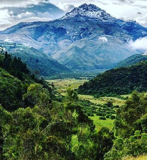 Foto Destacada por: @davidavidu | Reserva Ecologica Illinaza. Foto de caminante.de.montes #ecuador #...