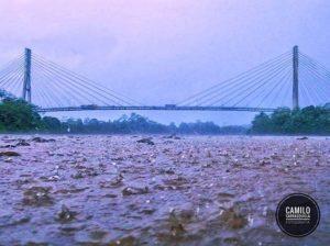 Aguarico Mirador Foto Destacada por: @camilo_carrasquilla | Un día lluvioso en las orillas del Río Aguarico 🍃📷 Nueva Loja – E…