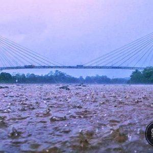 Aguarico Mirador Foto Destacada por: @camilo_carrasquilla | Un día lluvioso en las orillas del Río Aguarico 🍃📷 Nueva Loja - E...