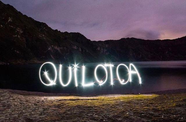 QUILOTOA - COTOPAXI  By : @nomadcampingec  #Quilotoa #ProvinciaDeCo...