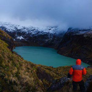 Foto Destacada por: @cmedinan | Laguna Amarilla, nevado El Altar. Vale la pena el esfuerzo… #geto…