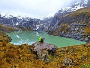 Nevado altar y la Laguna amarilla en el parqu… PH: david_salgado_