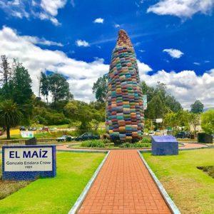 Monumento El Choclo – www.MasYapas.com 📷:@ecuadorysuspaisa