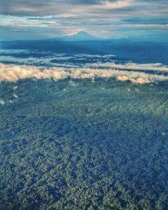 VOLCÁN SUMACO EN MEDIO DE LA AMAZONÍA – NAPO / ORELLANA By: @tranceunte