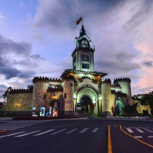 PUERTA DE LA CIUDAD - LOJA By: @victor_alvarez2010 #Loja