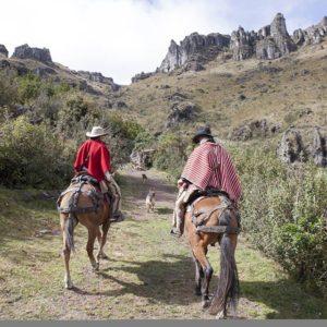 Cabalgata por la Ruta del Qhapaq Ñan Destino … PH: cesarortegaguillen