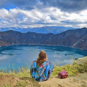 @EcuadorEnTusOjos PRESENTA  LAGUNA DE QUILOTOA – PROVINCIA DE COTOPAXI  By: @travel_beasts