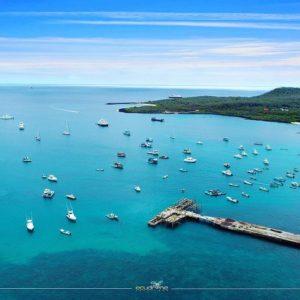 ISLA SAN CRISTOBAL - GALÁPAGOS  By: @ecudrone4k  #SanCristóbal #Galápagos #EcuadorEnTusO