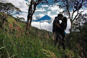 Volcán Tunguahua Ecuador La paz y el amor la