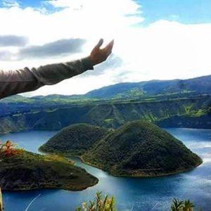 Cuicocha, Imbabura, Ecuador 📷:@sueco_el_viajero