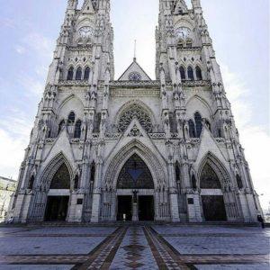 Basílica del Voto Nacional, Quito. Foto