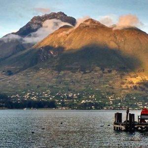 LAGO SAN PABLO - PROVINCIA DE IMBABURA  By: @floresalyss  #LagoSanPablo #ProvinciaDeImba
