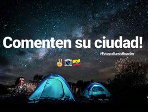 O lugar desde donde nos siguen… ¡Nos encanta saber de ustedes!  #FotografiandoEcuad