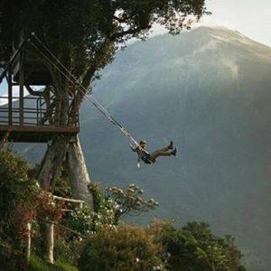 Casa del Árbol, Baños, Tungurahua.  Foto: @matt.arteaga