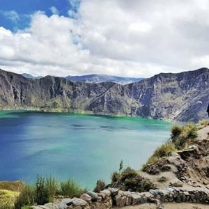 Laguna de Quilotoa.  Foto: @photographer_hegat  #FotografiandoEcuador #ecuadorpotenci