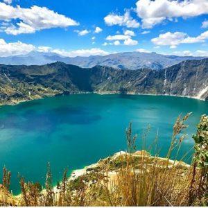 Laguna de Quilotoa.  Foto: @phbymela  #FotografiandoEcuador #ecuadorpotenciaturística