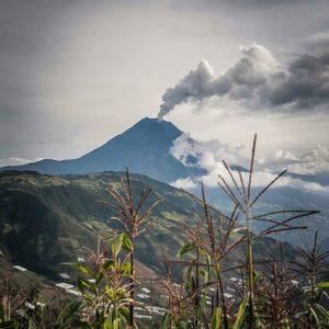 Volcán Tungurahua. Foto: @birdiblue #FotografiandoEcuador #ecuadorpotenciaturística