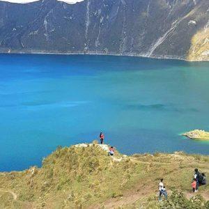 Laguna de Quilotoa.  Foto: @jonafuture  #FotografiandoEcuador #ecuadorpotenciaturísti