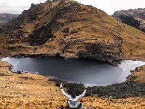 Cajas National Park  LAGUNA TINTACOCHA – PARQUE NACIONAL EL CAJAS – PROVINCIA DE AZUAY  By: @juliocesarra
