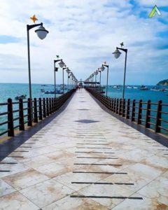 Puerto López  MUELLE DE PUERTO LÓPEZ – PROVINCIA DE MANABÍ  By: @adrianjc97  #PuertoLópez #Provinc