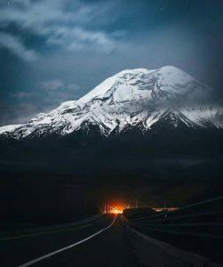 Volcán Chimborazo.  Foto: @mateo_venari  #FotografiandoEcuador #ecuadorpotenciaturíst