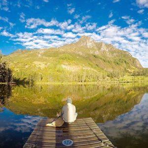 Laguna de Busa (san fernando)  LAGUNA DE BUSA - SAN FERNANDO - PROVINCIA DE AZUAY  By: @cris1595  #SanFernando #Pro
