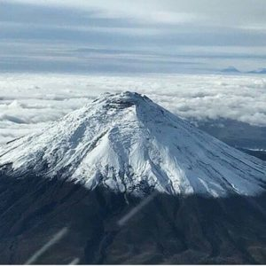 Volcán Cotopaxi.  Foto: @annanicolearteaga  #FotografiandoEcuador #ecuadorpotenciatur
