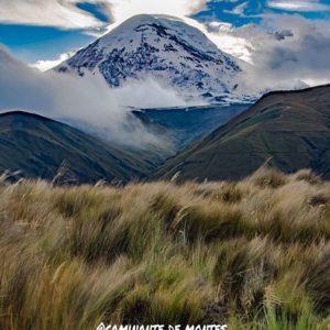 Volcán Chimborazo  VOLCÁN CHIMBORAZO  By: @caminante.de.montes  #Chimborazo #ProvinciaDeChimborazo #Ecu