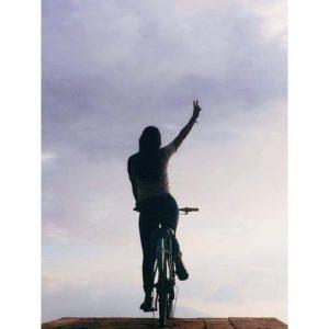 Un saludo para el mundo.  #bici_balcón🙌 #allyouneedisecuador🇪🇨 #ecuadorpotenciaturist