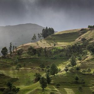 Loja, Ecuador Montañas al amanecer en la vía Loja-Vilcabamba. #nature #naturephotography #landscape