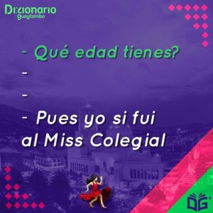 #QuéEdadTienes...?? 🤔 Pues yo si fui al #MissColegial 💃🏻 #Guaytambo #Ambato 😃