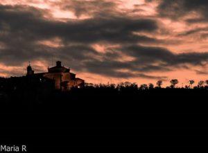 Anochecer y días de tormenta en Soria….. #paisajesperu #paisajesargentina #paisajes