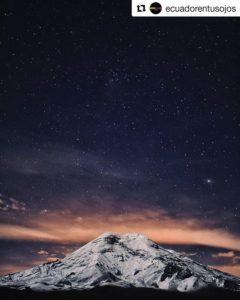 #Repost @ecuadorentusojos (@get_repost) ・・・  VOLCÁN CHIMBORAZO  #Chimborazo #Provinci