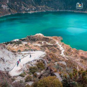 Laguna Del Quilotoa te presenta un lugar mágico ------------------------------------- Photographer: @juli