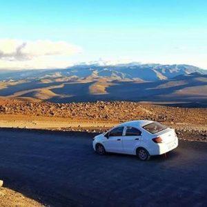 📌Ecuador en Ruedas📌 📷 VOLCÁN CHIMBORAZO 🚗 Chevrolet Sail 👤 Cortesía: Chevrolet Ecuado