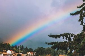 Loja, Ecuador 🌈 #rainbow #rainbows #arcoiris #rain #landscape #landscapephotography #paisajesecuado