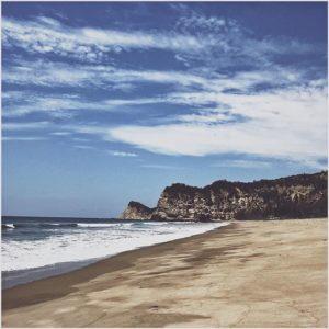 Puerto Rico, Manabi, Ecuador Toda la playa para recorrer. 🚶🏼♂️👣 | #Vsco #VscoCam #Beach #Sunny