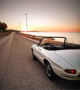 🌎Mundo en Ruedas🌎 📷 ITALIA 🚗 Alfa Romeo Spider 👤 Cortesía: IG ♻  #ecuador #roadtripec