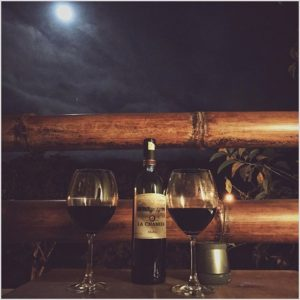 Ayampe, Manabi, Ecuador La luna. 🍷🌝 | #Vsco #VscoCam #Moon #Wine