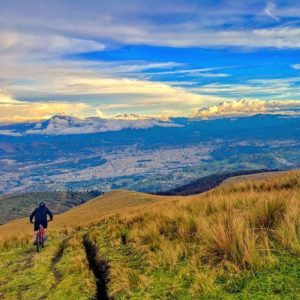 Quito, Ecuador Nothing is more spectacular than then those moments right before the sunset. Especial