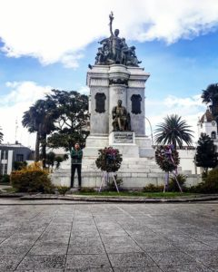 Latacuga  Ecuador San Vicente Mártir de Latacunga 🏔🏫 .  Lindo rincón de mi Patria 😎 ➖➖➖➖➖➖➖➖➖➖➖➖➖ . .
