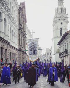 El Centro Historico de Quito Quito's unique Holy Week celebration.. Holy Friday/Viernes Santo.. Quito Ecuador 🇪🇨 .