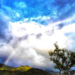 Vilcabamba, Loja, Ecuador Donde el arco iris sale todos los días Vilcabamba, EC 25 de mayo, 2018  #Ecuador #Loj