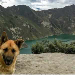 Laguna de Quilotoa.  Foto: @natalymejial  #FotografiandoEcuador #ecuadorpotenciaturís
