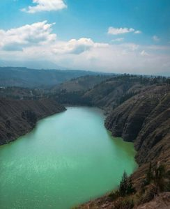 Laguna de Yambo.  Foto: @panchetex  #FotografiandoEcuador  #ecuadorpotenciaturística