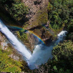 Baños, Tungurahua, Ecuador  PAILÓN DEL DIABLO - BAÑOS - PROVINCIA DE TUNGURAHUA  #Baños #ProvinciaDeTumgurahua #